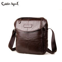 Cobbler Legend Genuine Leather Men Bags Casual Men's Messenger Bag Shoulder Crossbody Bag Male Men Leather Designer Handbags cobbler legend genuine leather men bags flap casual handbags male shoulder crossbody bags messenger men leather bag top handle