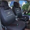 Universal Tampa de Assento Do Carro para Hyundai Solaris Decoração Velevt 3mm Espuma de Camurça Cinza Cor Tamanho Universal Carro-Cover Estilo do carro