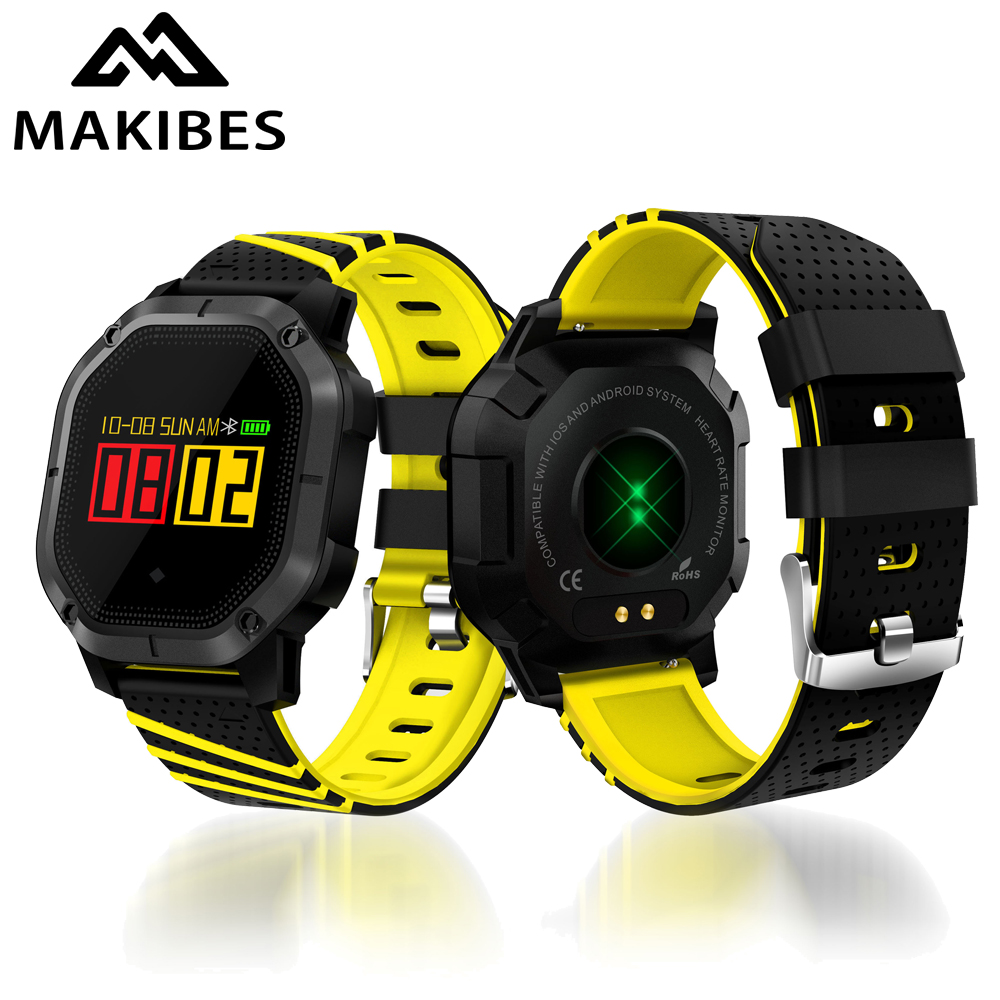 Makibes K5 Color Screen Smart Band Blood Pressure Heart Rate Blood Oxygen Monitor IP68 Bracelet for IOS Android Fitness Tracker купить в Москве 2019