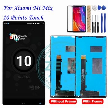 Xiaomi Mi Mix LCD Display + Frame 10 Touch Panel Screen Panel XAIOMI Mix LCD Digitizer Assembly Replacement Repair Spare Parts flat panel display