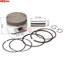 LF150cc Piston kit 56.5mm Piston 15mm Pin Piston Ring Set for Lifan150cc Engine Horizontal Engine Chinese Pit Bike Dirt Bike