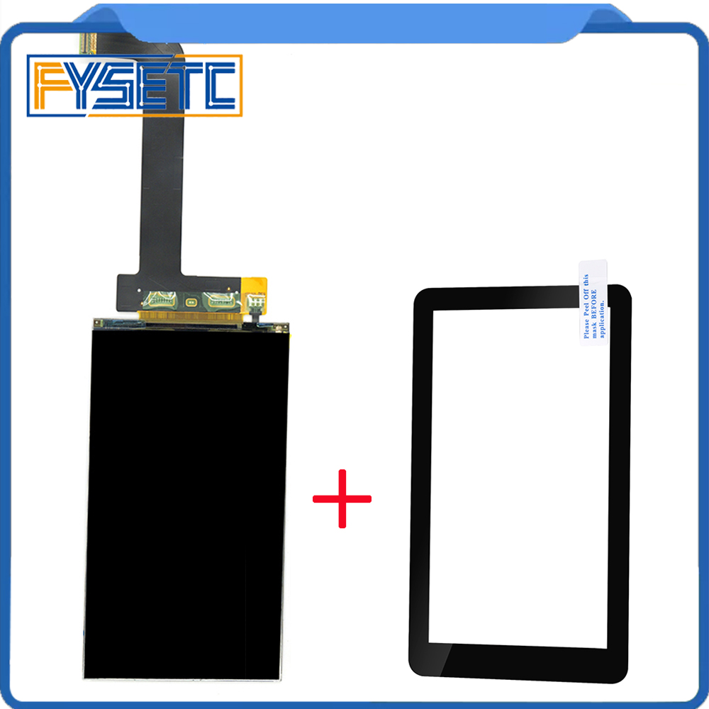 5.5 Inch Lcd 2560x1440 2K LS055R1SX03+glass Protectors For Photon Wanhao D7 Light-Curing 3d Printer VR Projector Parts