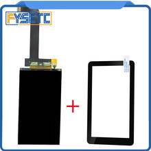 5.5 inch lcd 2560x1440 2K LS055R1SX03+glass protectors for Photon Wanhao D7 Light-Curing 3d printer VR Projector Parts(China)