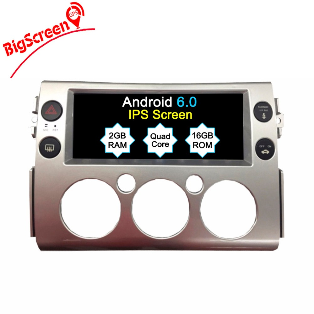 The Newest Android6.0 Car No DVD Player GPS Navi For Toyota FJ Cruiser Radio Head Unit Mul
