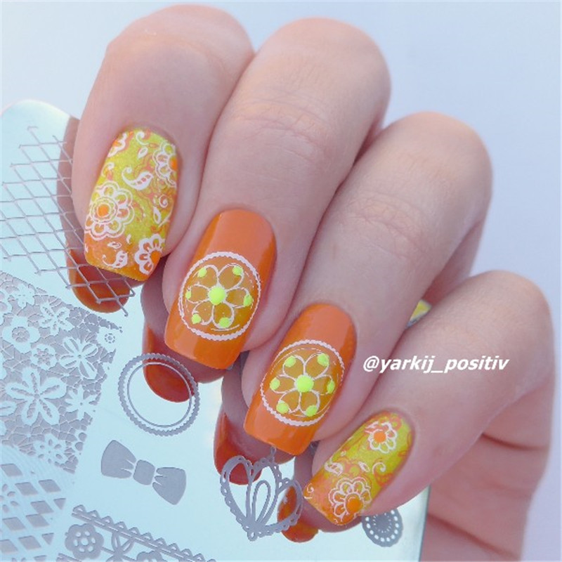 Beauty & Health Practical Born Pretty Ocean Holiday Theme Nail Art Stamp Template Manicure Design Image Printing Plate Nail Art Stencil Bp-23