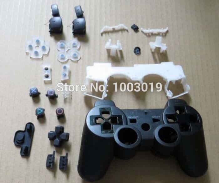 Remplacement de Shell de Logement Pour PS3 Contrôleur Sans Fil D'origine Avec Ensemble Complet Boutons Pour Sixaxis joystick