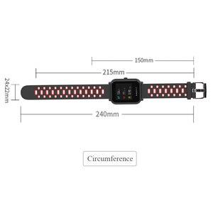 Image 3 - Mijobs 20mm Amazfit pasek silikonowy nadgarstek PC skrzynki pokrywa dla Xiaomi Huami Amazfit GTR Bip BIT tempo Lite GTS Smartwatch Correa