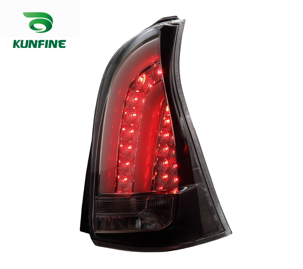 KUNFINE Pair Of Car Tail Light Assembly For TOYOTA AVANZA 2012 2013 2014 2015 LED Brake Light With Turning Signal Light pair of car tail light assembly for toyota corolla 2014 led brake light with turning signal light kf l7066