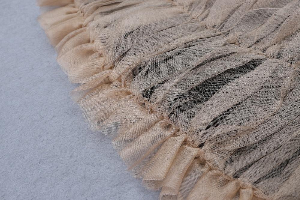 Haute qualité Sexy femmes en mousseline de soie ceintures Mini rayonne Bandage Simple élégant retour robe de soirée - 6