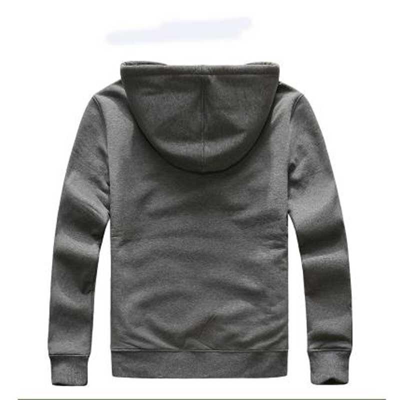 Зимний мужской комплект, флисовые толстовки, теплые толстые повседневные толстовки, комплекты из 2 предметов, мужская спортивная одежда, сп... - 3