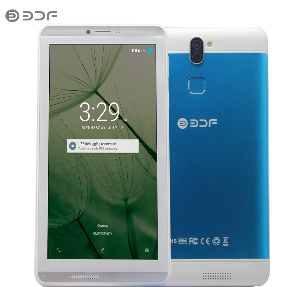 New 7 Inch Android 6.0 Quad Core 3g Phone Call Dual Sim 16gb Tablet Pc Wifi Bluetooth Metal Shell Tablets For Big Discount