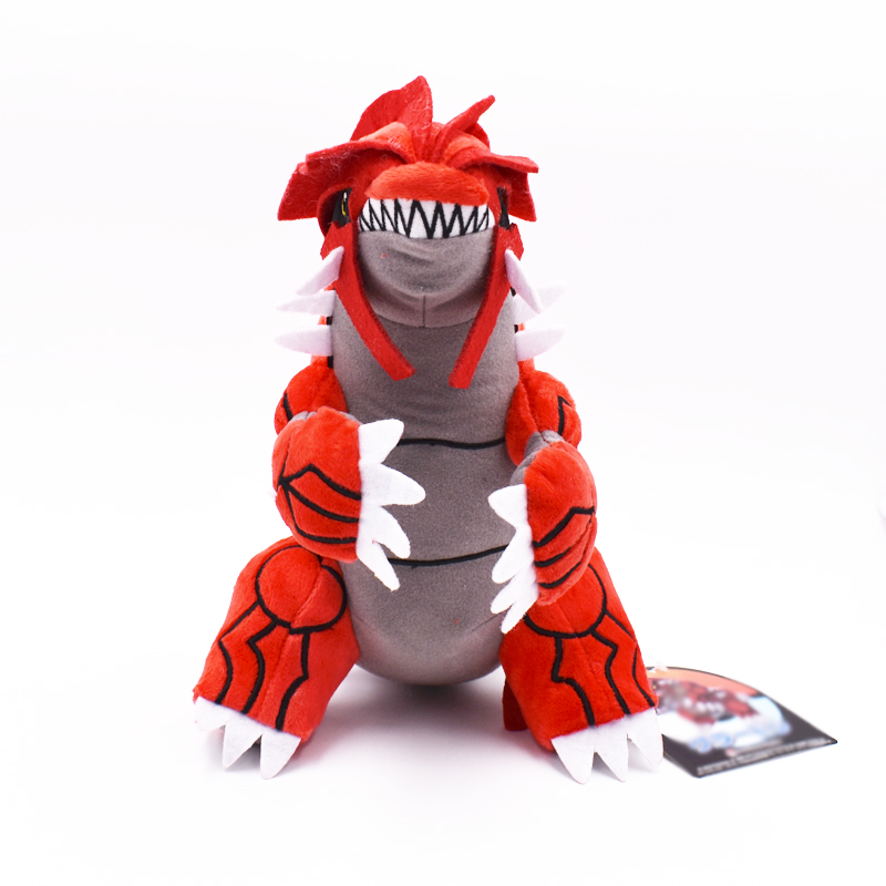 2017 Hot Sale!!! Groudon 12inch 30cm Cartoon Doll Plush Peluche Toy Gift Free Shipping