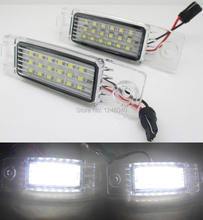 18LED License plate light number plate lamp for Toyota Harrier 98~03 Highlander 09~,RAV4 05~,Hiace Regiusace Vanguard 2004-2012(China)