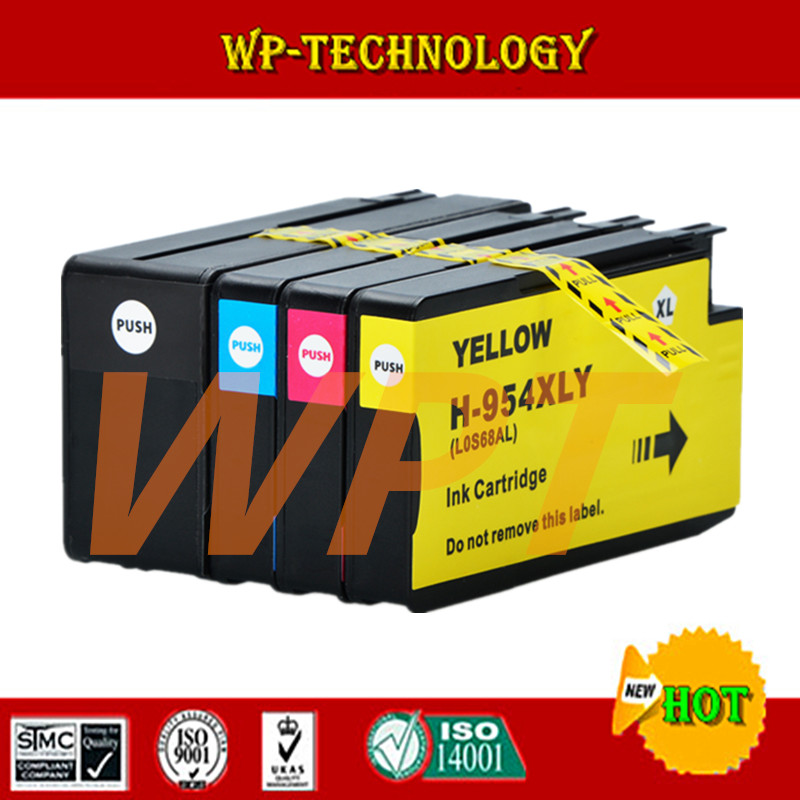 4PK New For HP 954 HP954XL Full Ink Cartridge BK/C/M/Y For HP OfficeJet Pro 7740 8210 8710 8715 8716 8720 8725 8730 8740 Printer lcl 220xl 220 xl 4 pack bk c m y ink cartridge compatible for lexmark officeedge pro4000c pro4000 pro5500 pro5500t