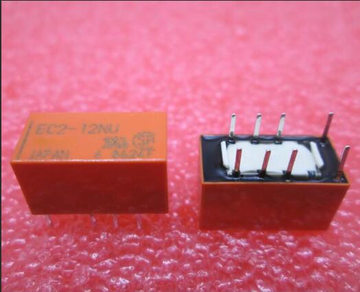 NEW relay EC2-12NU EC212NU 12V 12VDC DIP4 50PCS/LOT new relay f3pa012v 12vdc 12v f3pa012v 12vdc f3pa012v 12v dip4