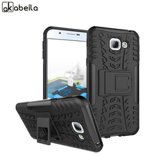 AKABEILA Mobile Phone Case For Samsung Galaxy A8 2016 SAMSUNG A8100 SM-A810 Back Cover Dazzle Cool Housing Sheath PC+TPU Shell