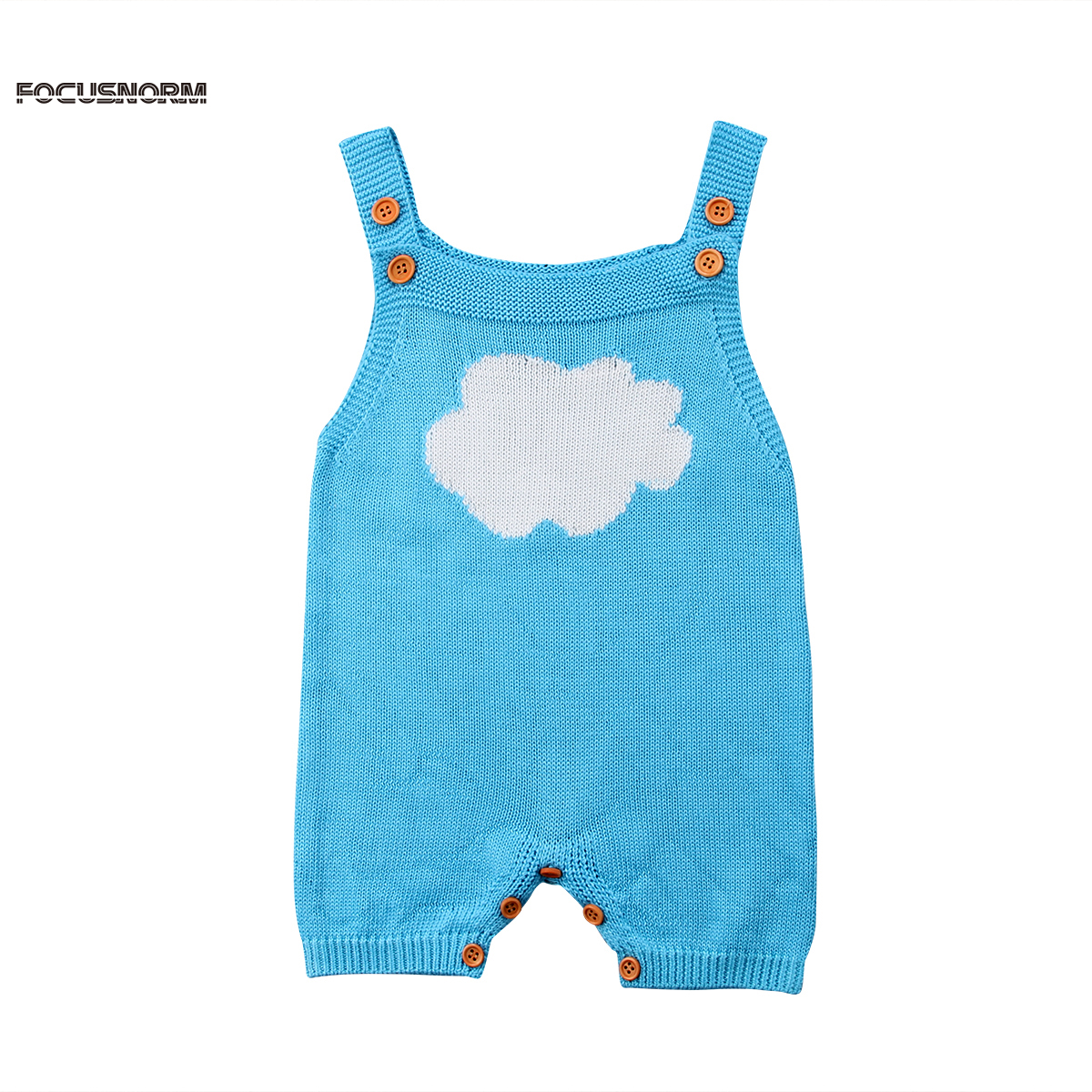 Newborn Infant Kids Baby Boys Girls Cute Suspenders Romper Sunsuit Wool Knitted Outfits Clothes cute newborn infant baby girl clothes set girls romper letter printed bodysuit floral tutu skirted bloomers short outfit sunsuit