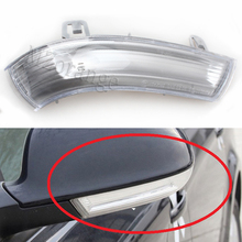 For Volkswagen VW Passat B5 Variant 3 B6 2000-2005 Led Car Styling Side Mirror With Indicator Turn Signal Lights 1KD 949 101/102 mzorange car light smoke side wing review mirror turn signals lights lamp for vw for passat b5 b6 for golf 5 car styling