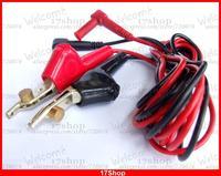set 4mm banana MULTIMETER PEN plug Cord bed nails clip Piercing Clips line test