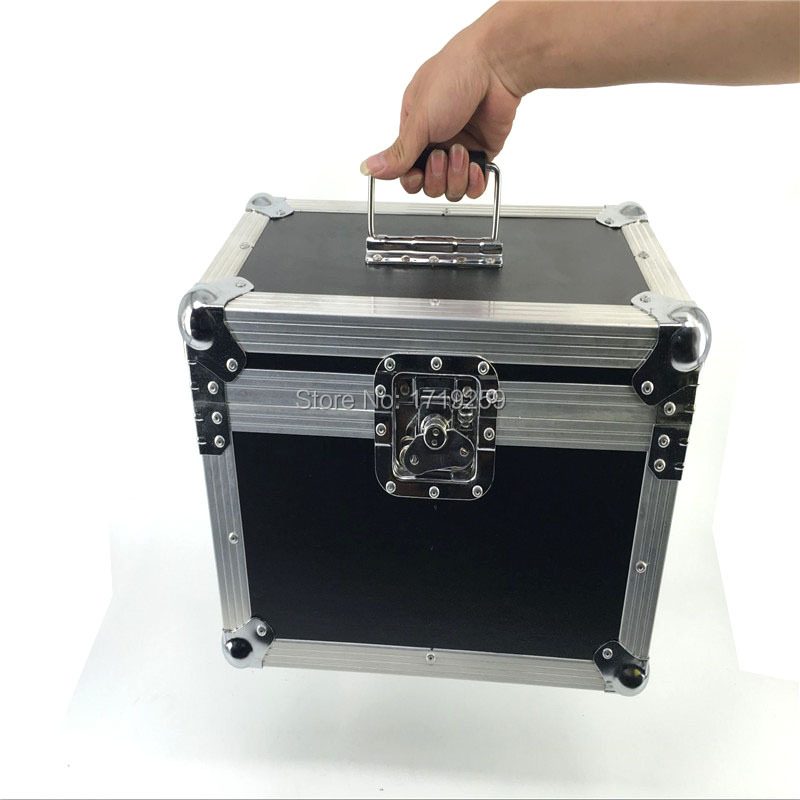 Flight Case with 2 pieces LED Par COB 100W High Power Aluminium Case Stage Lighting with 100W COB ,cool white and warm white winsune 2 100w cool white