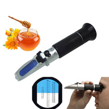 Refractometer Honey Beekeeper Water Sugar Content Brix 58-92% 10-33% Handheld Tool YU-Home