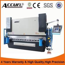 New Design CNC Hydraulic Press Brake,DA69T hydraulic electric box bending machine