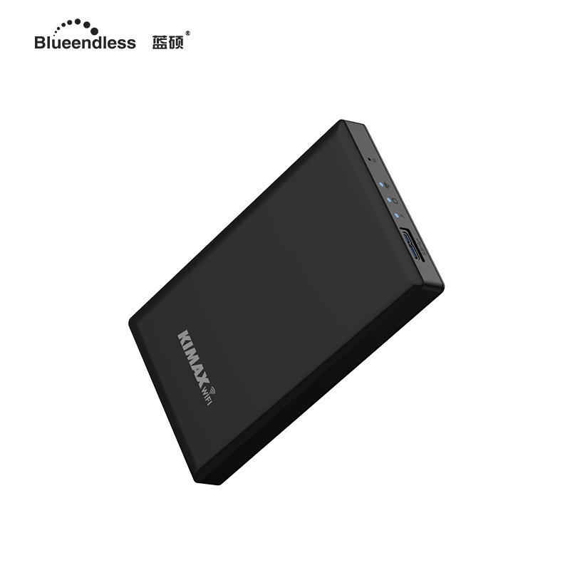 portable external hard disk 250 gb storage sata hard drive 2.5'' wifi router repeater case HDD blueendless U25CWF стоимость