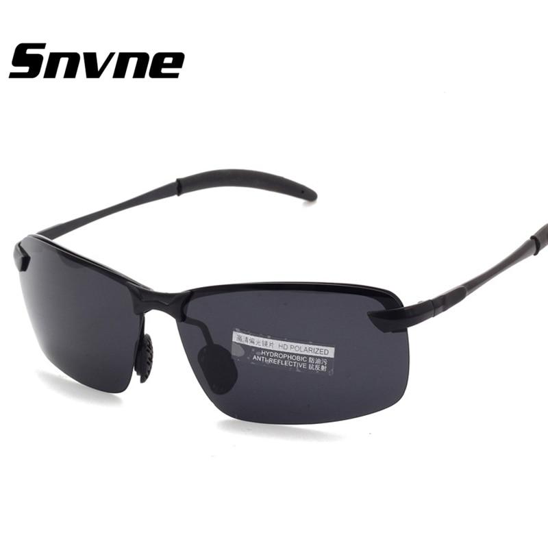 Snvne nachtkijker polaroid zonnebril mannen merk gepolariseerde bril - Kledingaccessoires