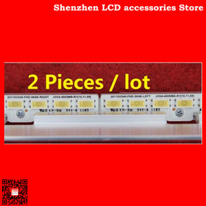 Image 2 - 2piece/lot UA40D5000PR LTJ400HM03 H LED strip BN64 01639A 2011SVS40 FHD 5K6K Right  LEFT 2011SVS40 56K H1   440mm 62LED  100%NEW
