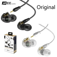 Original MEE audio M6 PRO Wired Headphones Profeesional Music Stereo Noise Isolating In ear Monitors Headset HIFI Earphones
