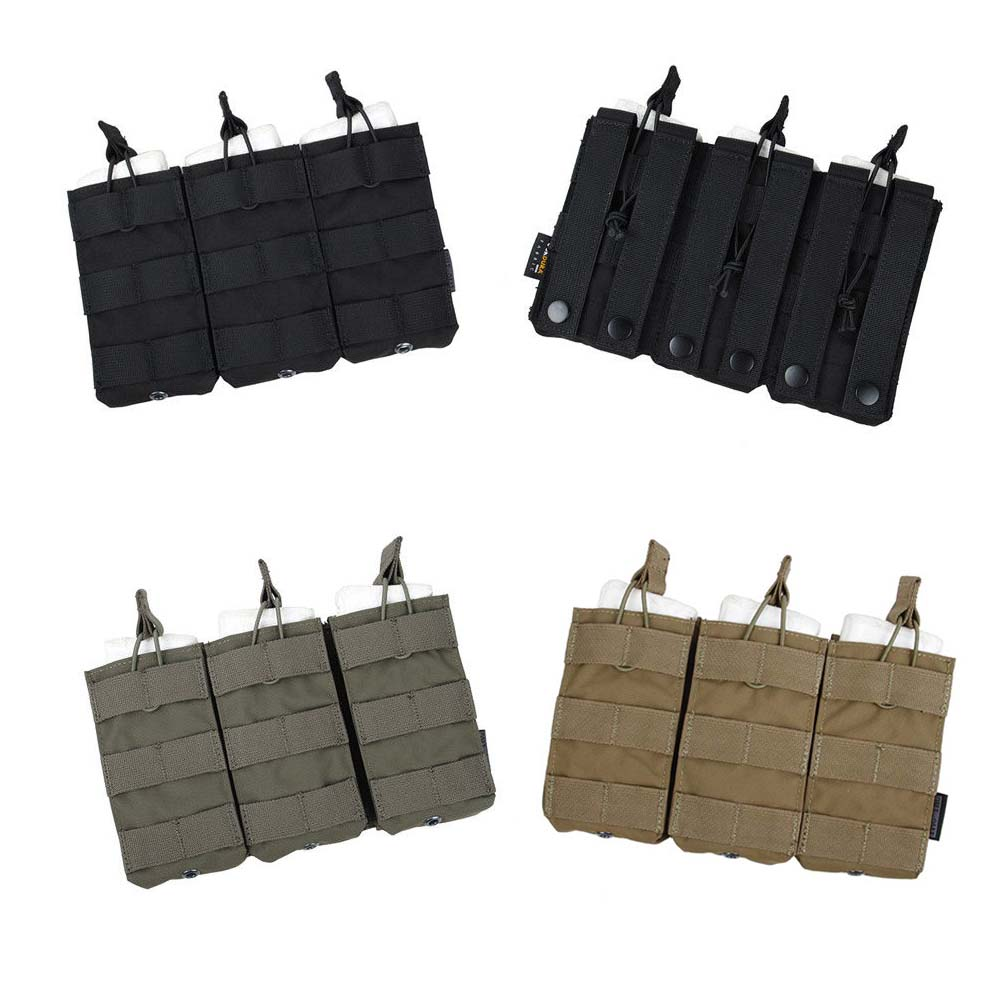 TMC2971 Triple Molle 556 Magazine Pouch Tactical Military MOLLE Vest Trigeminy Storage Bag