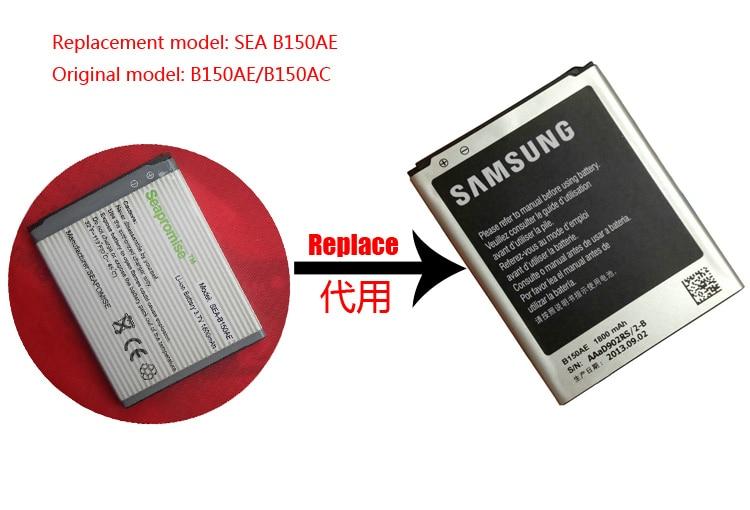 Freeshipping retail B150AE B150AC bateria para Galaxy Cor I8260 I8262 I8268 G3500 G3509 G3502 G3502U G3508, GT-I8260