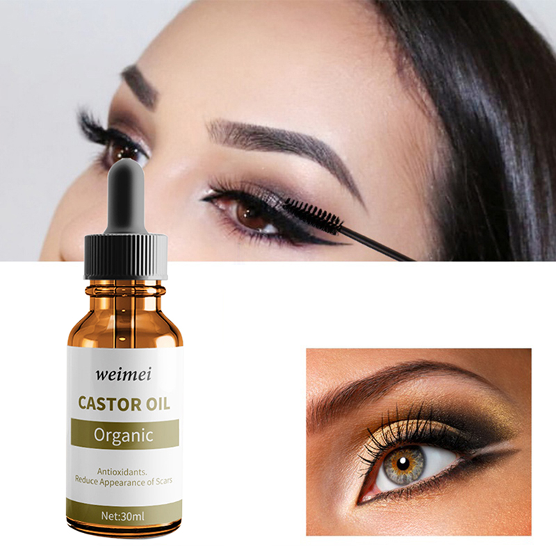 f6d51289757 Pure Organic Castor Oil For Eyelashes Stimulate Cold Extraction Moisturizing  Nutrition Eyelashes Eyebrows Hair Growth-in Eyelash Growth Treatments from  ...