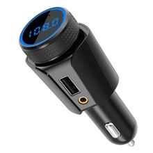 CDEN автомобиля MP3 Bluetooth fm-передатчик зарядное устройство мобильного телефона Aux аудио выход TF карты без потерь трансляции Bluetooth Car Kit