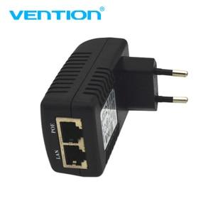 Image 2 - Hot Cctv 48V/24V 0.5A POE Wall Plug Poe Injector Ethernet Adapter Converter Ip Camera POE Phone Power Supply US Eu Plug DropShip