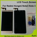 Для XIAOMI Redmi Note 3 Hongmi Примечание 3 редми примечание высокое Качество ЖК-Экран Дигитайзер Сенсорный 1920*1080 Черный Белый золото
