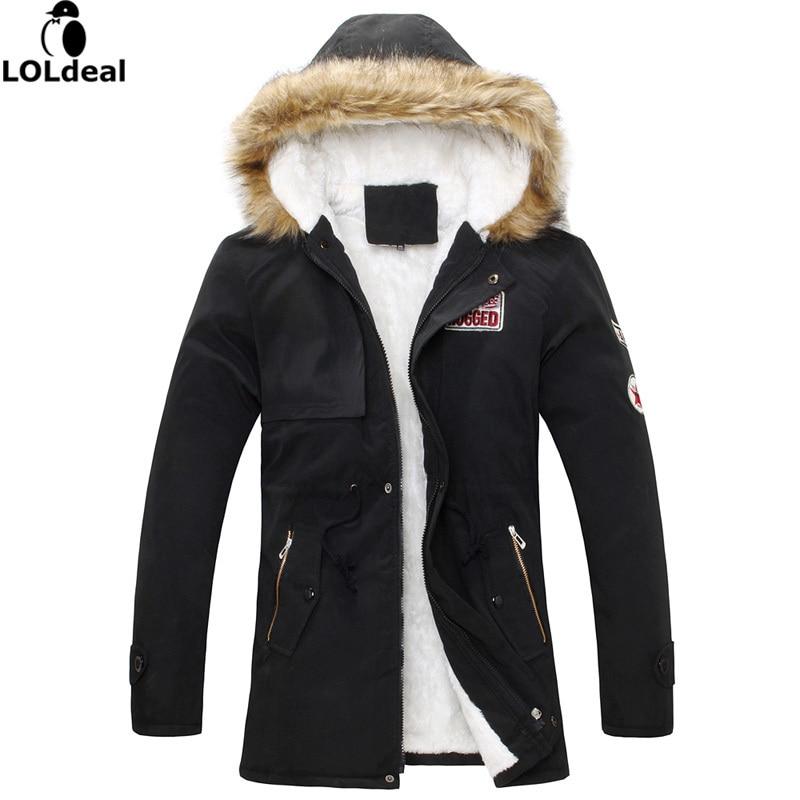 Marca 2017 nuevos abrigos de invierno de los hombres patrón de la divisa  parkas moda streetwear ropa de abrigo (Tamaño de Asia) 773cc315c874