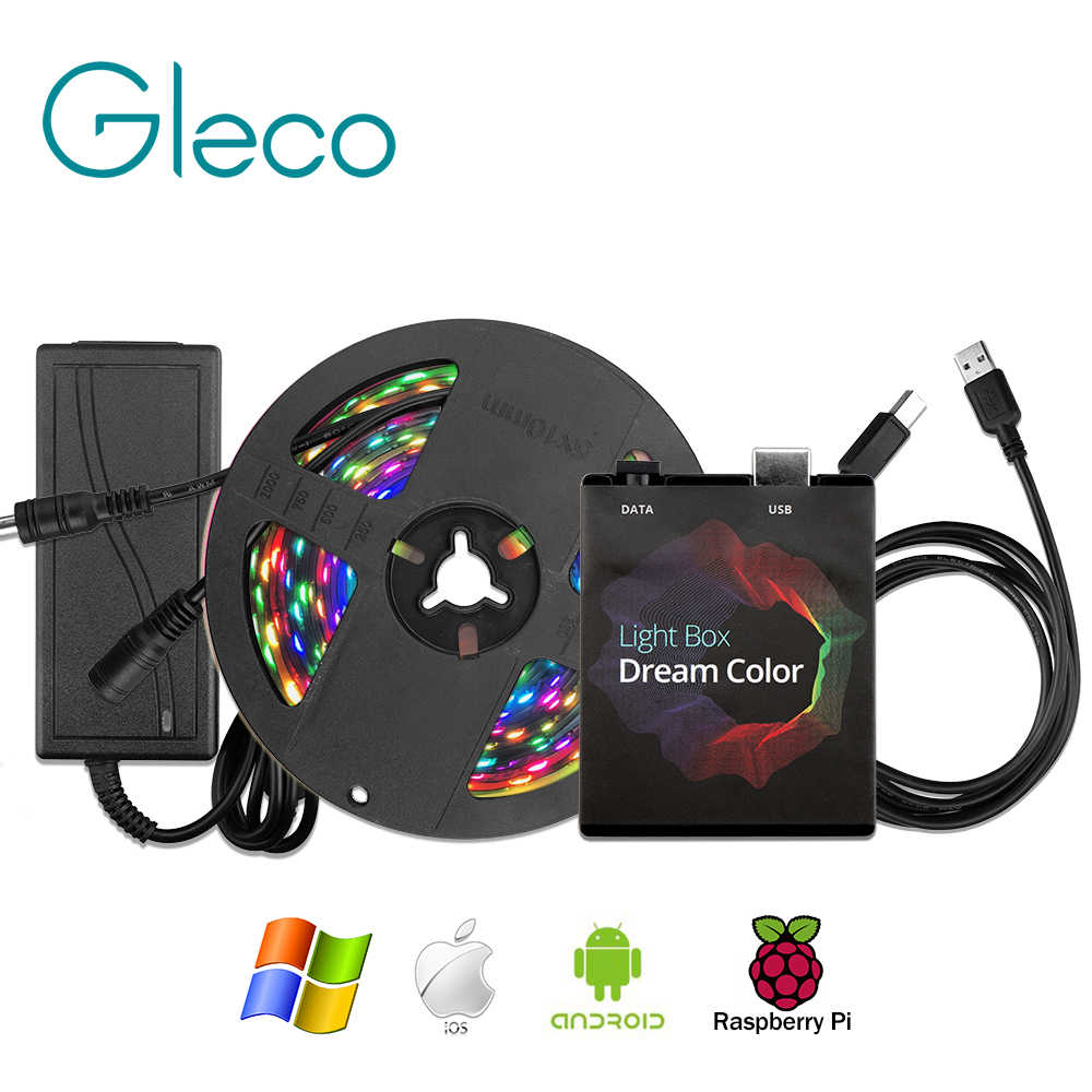 Ambilight Kit Dream color LED Strip 5050 RGB 1M 2M 3M 4M 5M