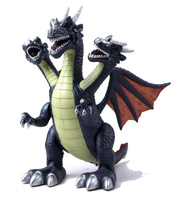 [Funny] Jurassic world Electric Dinosaur flash and sound Three head of drago Talking Toy child Interactive Toy Walk Talk model