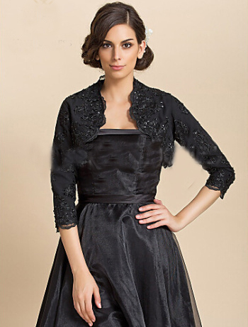 Cocktail Dresses with Sleeves or Bolero,Evening Cocktail Coat,New Wedding Jacket,