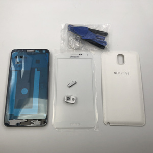 Image 2 - Note3 tam konut çerçeve kapak kılıf shell Samsung Galaxy not 3 N9005 N9006 N900 ön çerçeve + LCD ön cam + pil kapı