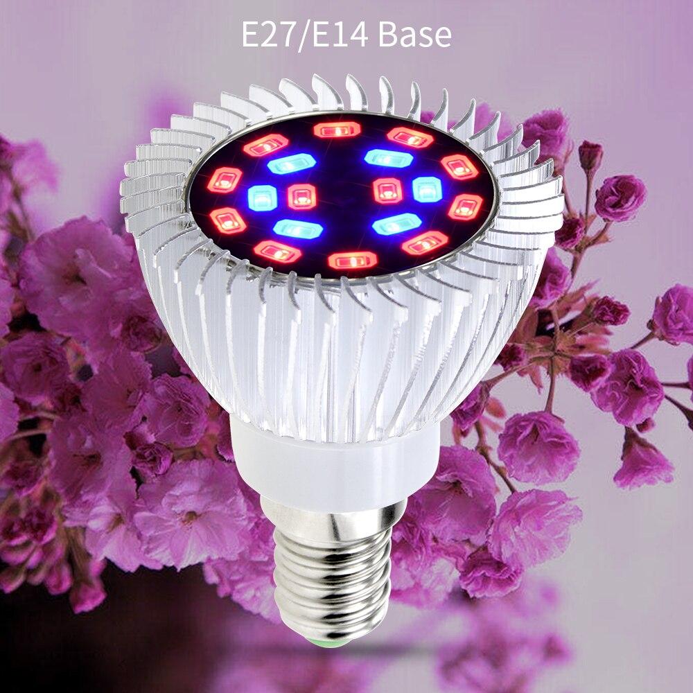 Complet Phytolamp V Led Croissante 265 À Plantes Ampoule Éclairage E27 Aluminium E14 Pour 85 18 Leds Spectre Lampe Semis Serre Fleur DHEI29