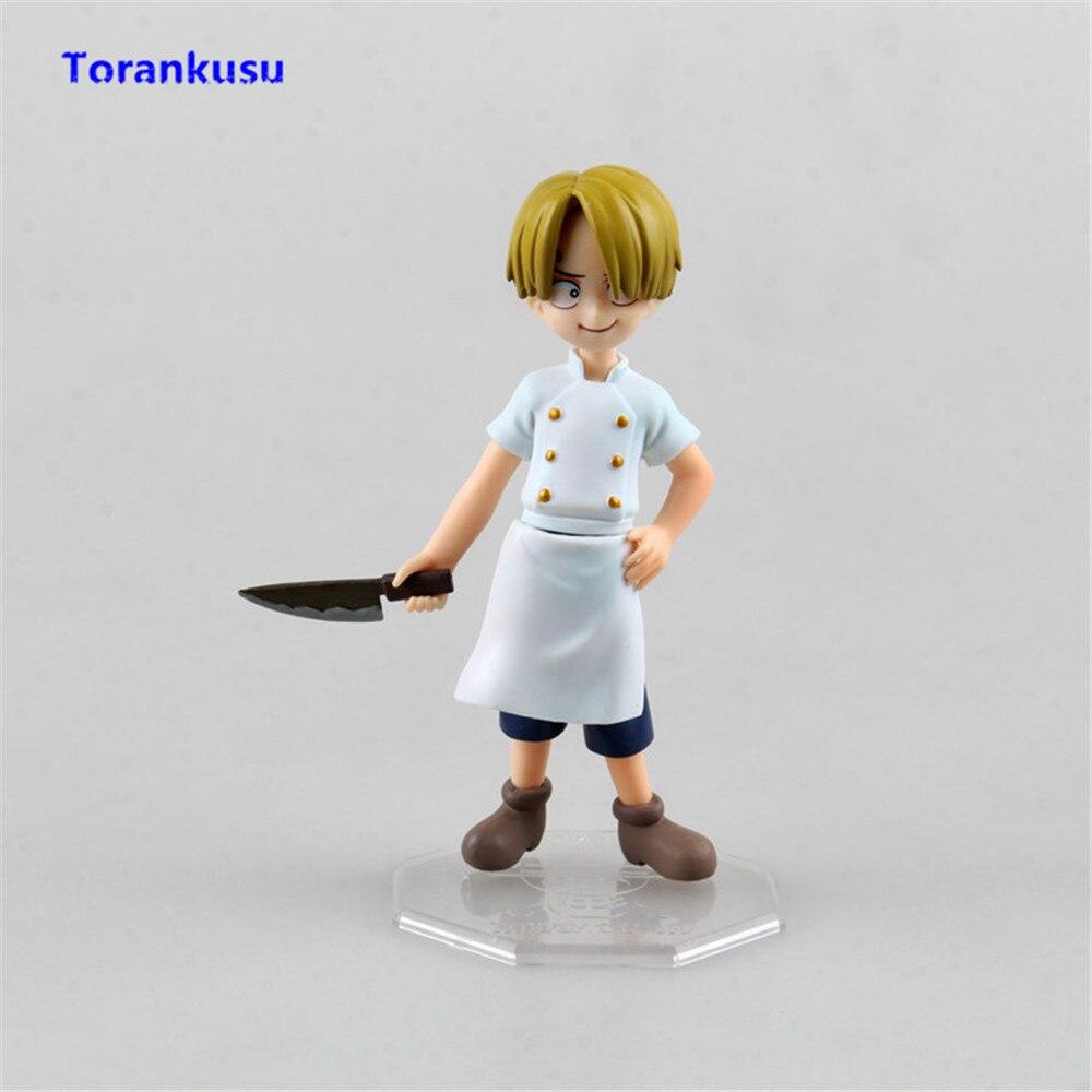 One Piece Figure Vinsmoke Sanji Childhood Ver. Collectible Action Figures PVC Model Kids Gift Children Doll Man Birthday Toys XP