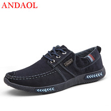 ANDAOL Mens Casual Shoes Top Quality Breathable Light Non-Slip Sneakers New Luxury Korean Trend Lace-Up Marvel Canvas Trainers