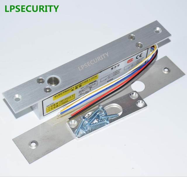 lpsecurity no nc fail safe fail secure electric strike electric bolt