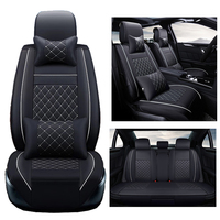 PU Leather car seat covers For Volkswagen vw passat b5 b6 b7 polo 4 5 6 7 golf tiguan jetta touareg AUTO accessories car styling