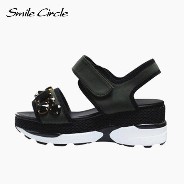 De 2017 Rhinestone Piel Zapatos Verano Sandalias Estilo Mujeres Moda DH2YWEI9