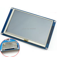 5 Inch TFT LCD Touch Screen Module 16M Colors For 51 MCU Resolution 800 480