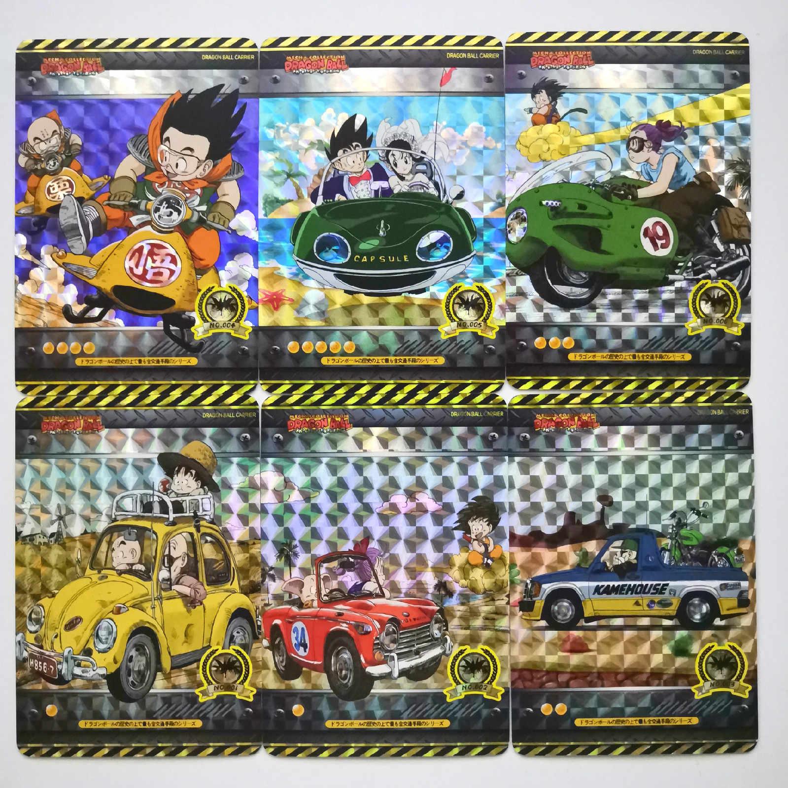 18pcs/set Super Dragon Ball Z First Bullet Heroes Battle Card Goku Vegeta Super Game Collection Cards