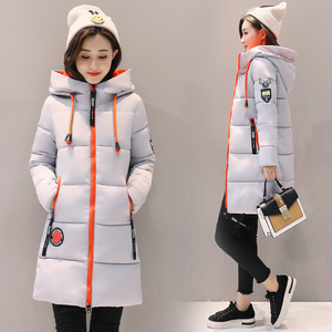 Image 4 - Парка женская 2020 зимняя куртка женское пальто с капюшоном верхняя одежда женская парка зимнее женское базовое пальто Z30